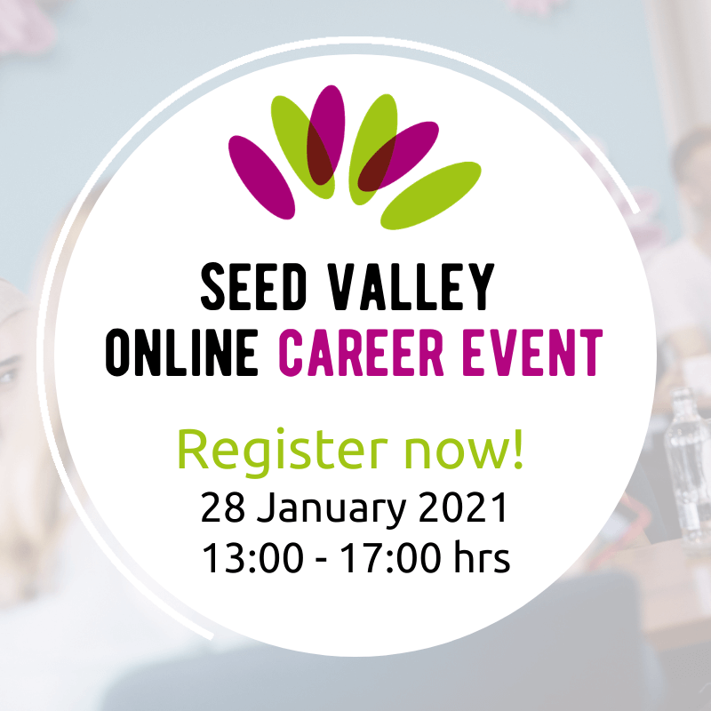 Sign up for the Seed Valley Online Career Event!